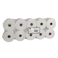 (10) 44mm x 235' 1-Ply Thermal Paper Rolls For Sharp XEA40TRT