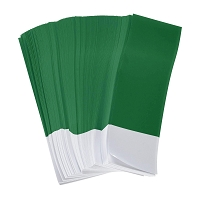 1Pk 2500 Green Napkin Bands 1.5