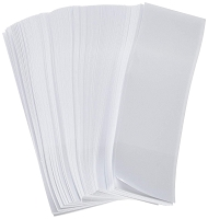 1Pk 2500 White Napkin Bands 1.5
