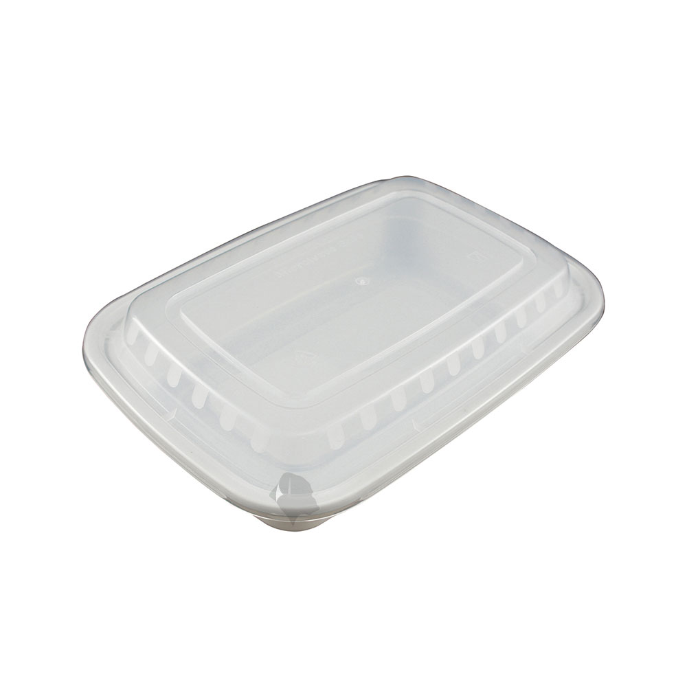 50 Food Containers With Lid 24 Oz Reusable Bpa Free Plastic Microwave Freezer Dishwasher Safe