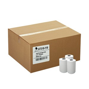 (50)  3-1/8 x 119' Thermal Paper Rolls 50/CS First Data FD100 200 300 CT-S810