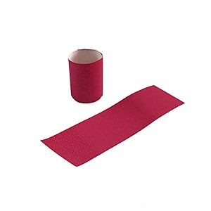 "Gorilla Supply Red Napkin Bands 1.5"" x 4.25"" (Pack of 15000, 6pks of 2500)"