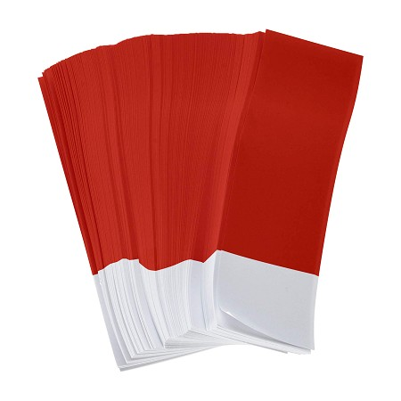 6Pk 15,000 Red Napkin Bands 1.5
