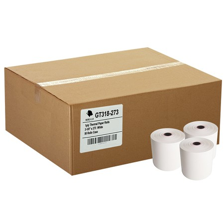 (50) 3-1/8 x 273' Thermal Paper Rolls Star TSP 100 300 500 600 700 CT-S300