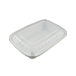 150 Food Containers with Lids (24 oz) - Reusable BPA Free Plastic, Microwave, Freezer, & Dishwasher Safe, White